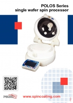 Brochure SPIN150i-SPIN200i and PDF file POLOS Series Single Wafer Spin Processor.